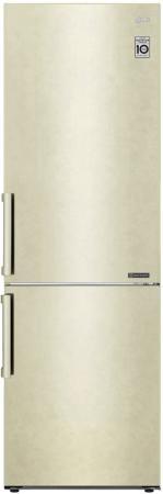 Холодильник LG GA-B459BECL бежевый