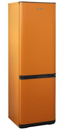 лучшая цена Холодильник Бирюса Б-T360NF оранжевый (двухкамерный)