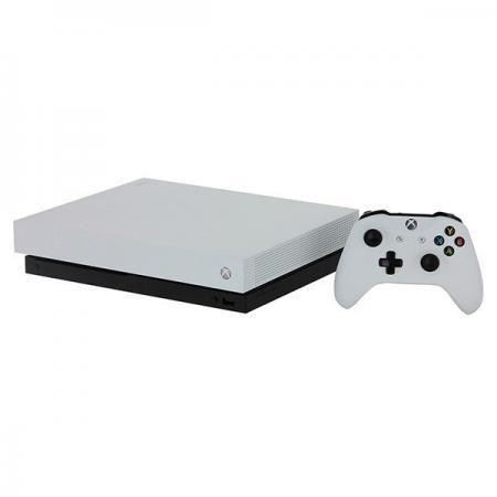 Игровая консоль Microsoft Xbox One X 1Tb белый в комплекте: игра: Metro 2033 Redux