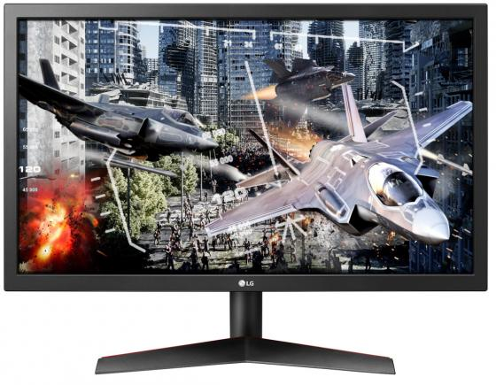"Монитор 24"" LG Gaming 24GL600F-B черный TN 1920x1080 300 cd/m^2 1 ms HDMI DisplayPort 24GL600F-B.ARUZ"