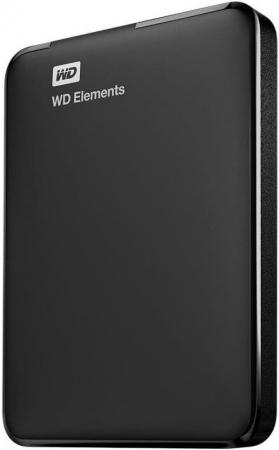 "Жесткий диск WD Original USB 3.0 500Gb WDBMTM5000ABK-EEUE Elements Portable 2.5"" черный"