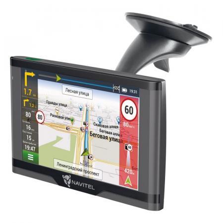 Навигатор Автомобильный GPS Navitel N500 MAG 5 480x272 4Gb microSDHC серый Navitel как обмануть gps навигатор