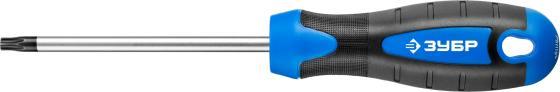 """Отвертка слесарная, Cr-Mo сталь, 2к рукоятка, магнитный наконечник, TX30 x 100 мм, ЗУБР """"ПРОФЕССИОНАЛ"""" 25234-30"""
