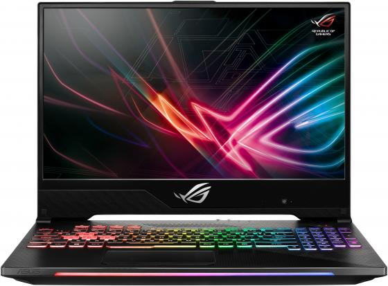 Ноутбук ASUS GL504GW-ES006 15.6 1920x1080 Intel Core i7-8750H 1 Tb 256 Gb 16Gb Bluetooth 5.0 nVidia GeForce RTX 2070 8192 Мб черный DOS 90NR01C1-M01340 клип кейс guess kaia для apple iphone xs черный