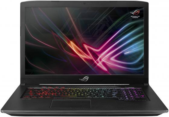 ASUS ROG GL703GE-EE197T 17.3(1920x1080 (матовый) IPS)/Intel Core i7 8750H(2.2Ghz)/8192Mb/1000+256SSDGb/noDVD/Ext:nVidia GeForce GTX1050Ti(4096Mb)/Cam/BT/WiFi/war 1y/3kg/Aluminium Black/W10 ноутбук asus rog gl703ge gc101t aluminium black 90nr00d2 m01920 intel core i7 8750h 2 2 ghz 8192mb 1000gb 128gb ssd nvidia geforce gtx 1050ti 4096mb wi fi bluetooth cam 17 3 1920x1080 windows 10 home 64 bit
