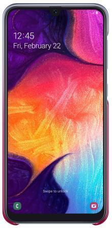 цена на Чехол (клип-кейс) Samsung для Samsung Galaxy A50 Gradation Cover розовый (EF-AA505CPEGRU)