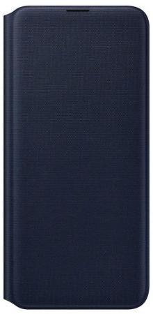Чехол (флип-кейс) Samsung для Samsung Galaxy A20 Wallet Cover черный (EF-WA205PBEGRU) чехол флип кейс samsung для samsung galaxy j6 2018 wallet cover пурпурный ef wj600ceegru