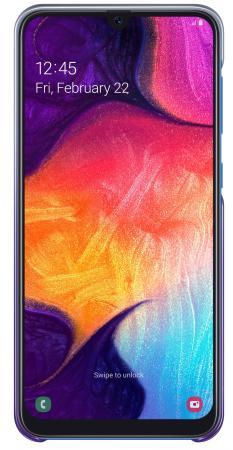 Чехол (клип-кейс) Samsung для Samsung Galaxy A50 Gradation Cover фиолетовый (EF-AA505CVEGRU) клип кейс samsung gradation cover для samsung galaxy j4 2018 золотистый