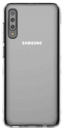 Фото - Чехол (клип-кейс) Samsung для Samsung Galaxy A70 araree A cover прозрачный (GP-FPA705KDATR) чехол клип кейс samsung для samsung galaxy a40 araree a cover фиолетовый gp fpa405kdaer