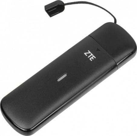 Модем 2G/3G/4G ZTE MF833R USB Firewall +Router внешний черный модем 2g 3g 4g zte mf833r usb firewall router внешний черный