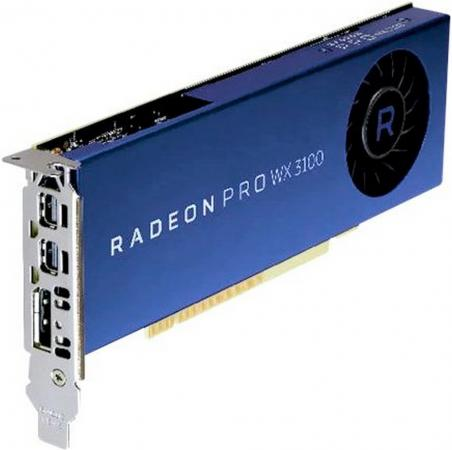 Купить Видеокарта Dell PCI-E Radeon Pro WX 3100 AMD WX 3100 4096Mb 256bit DDR5/DPx2 oem