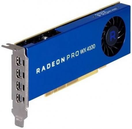 Купить Видеокарта Dell PCI-E Radeon Pro WX 4100 AMD WX 4100 4096Mb 256bit DDR5/DPx2 oem