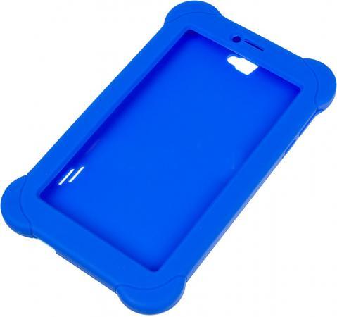 Чехол Digma для Plane 7565N силикон синий