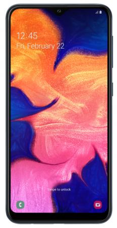 Смартфон Samsung Galaxy A10 черный 6.2 32 Гб LTE Wi-Fi GPS 3G Bluetooth SM-A105FZKGSER смартфон samsung galaxy s8 sm g950f 64gb жёлтый топаз