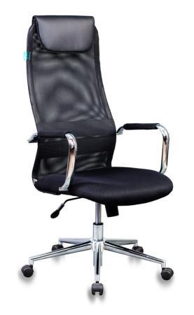 Кресло руководителя Бюрократ KB-9N/BLACK чёрный кресло руководителя бюрократ ch 868axsn white белый