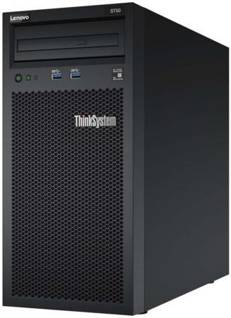 Сервер Lenovo ThinkSystem ST50 1xE-2124G 1x8Gb x8 (7Y48A008EA) сервер lenovo topseller x3550m5 5463j2g