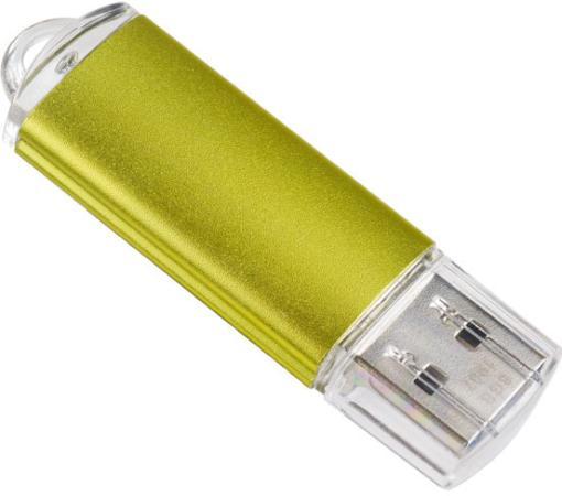 Купить Флешка 32Gb Perfeo E01 Gold USB 2.0 золотистый PF-E01Gl032ES