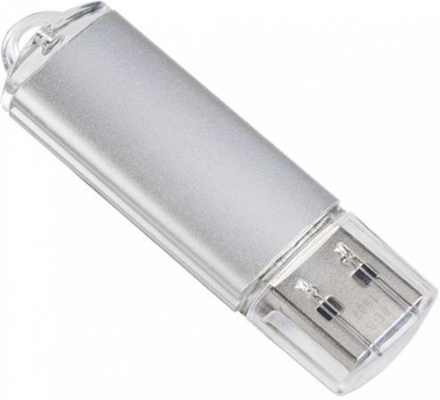 Фото - Флешка 8Gb Perfeo E01 USB 2.0 серебристый PF-E01S008ES флешка perfeo m01 64gb black