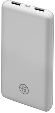 Внешний аккумулятор Power Bank 10000 мАч GINZZU GB-3911W белый