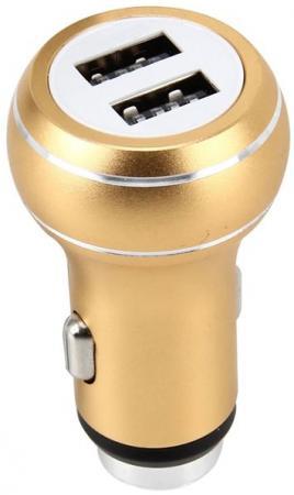 Фото - Автомобильное зарядное устройство Perfeo I4610 2.1/1А золотой автомобильное зарядное устройство perfeo auto 2 розовый