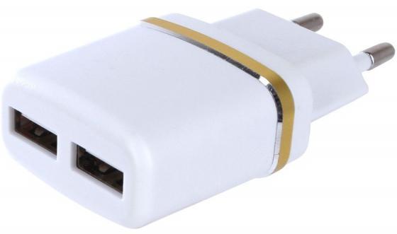 Сетевое зарядное устройство Perfeo I4615 2.1A белый зарядное