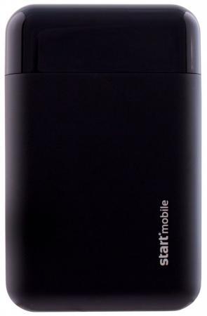 Внешний аккумулятор Power Bank 10000 мАч СТАРТ EAGLE черный P10MCQC-B внешний аккумулятор df dual 01 10000 мач черный