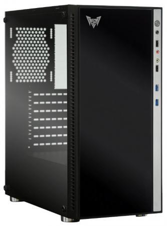 Корпус ATX Crown CMC-GS10Z (CM-PS600W PLUS) 600 Вт чёрный серебристый цена