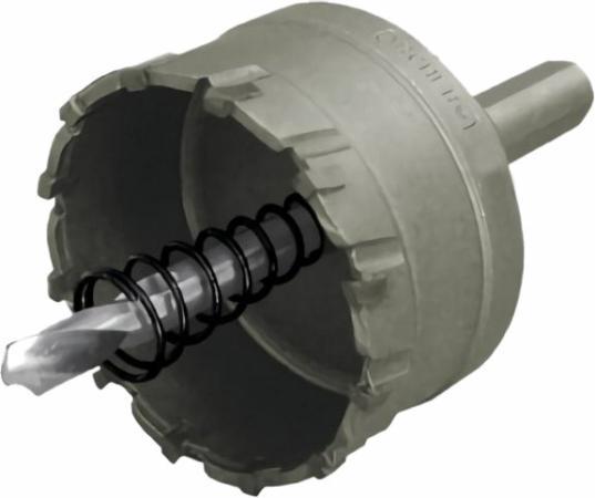 FIT IT Коронка кольцевая с карбидными вставками Профи (для отверстий в нержавеющей стали) 20 мм [36820] коронка кольцевая fit 50мм карбидная профи 36850