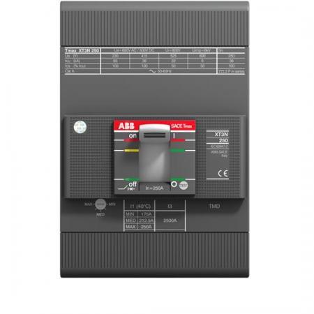 ABB 1SDA068058R1 Выключатель автоматический XT3N 250 TMD 200-2000 3p F F