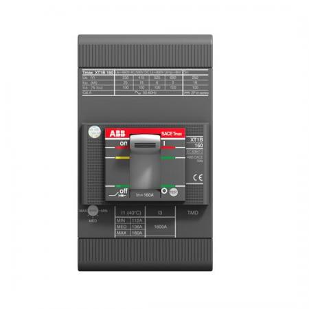 ABB 1SDA066809R1 Выключатель автоматический XT1B 160 TMD 160-1600 3p F F