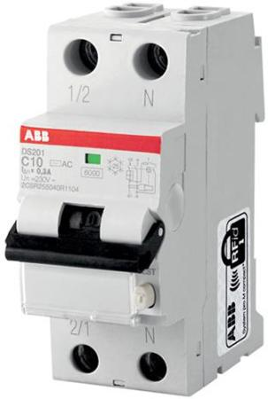 ABB 2CSR255040R1104 Выключатель авт.диф.т.DS201 C10 AC30