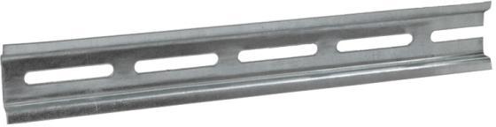 Iek YDN10-0020 DIN-рейка (20см) оцинкованная iek ydn10 0030 din рейка 30см оцинкованная