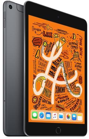 Планшет Apple iPad mini 2019 7.9 256Gb Space Gray 3G LTE Bluetooth Wi-Fi iOS MUXC2RU/A планшет apple ipad mini 2019 7 9 256gb space gray 3g lte bluetooth wi fi ios muxc2ru a
