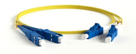 Hyperline FC-D2-9-LC/UR-SC/UR-H-10M-LSZH-YL Патч-корд волоконно-оптический (шнур) SM 9/125 (OS2), LC/UPC-SC/UPC, duplex, LSZH, 10 м цена и фото