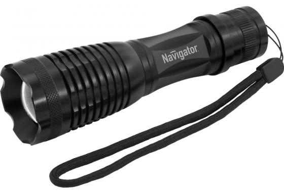 Фонарь ручной Navigator NPT-CM11-3AAA чёрный 71039