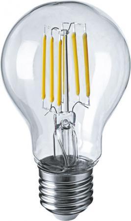 Лампа светодиодная груша Navigator NLL-F-A60-6-230-2.7K-E27 E27 6W 2700K лампа светодиодная шар navigator nll g45 1 230 y e27 e27 1w 71830
