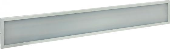 купить Iek LDVO3-6567-36-4000-K01 Светильник светодиодный ДВО 6567-O 36Вт 4000К 1200х180х20 опал {аналог люм.свет. 2х36 накладных или в потолок Армстронг} дешево