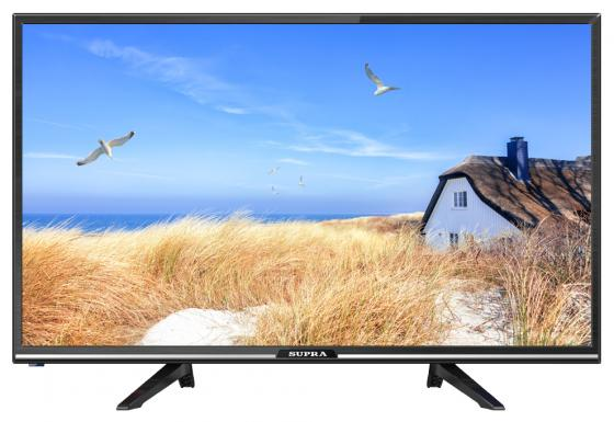"""лучшая цена Телевизор LED 32"""" Supra STV-LC32LT0110W черный 1366x768 60 Гц Wi-Fi Smart TV S/PDIF USB"""
