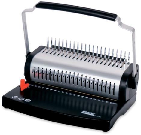 Переплетчик Office Kit B2121 A4/перф.20л.сшив/макс.500л./пластик.пруж. (6-51мм) цена и фото
