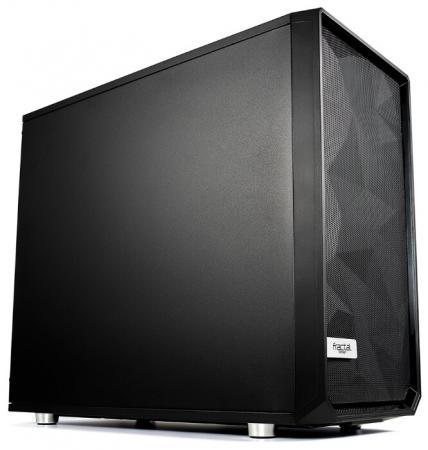 Корпус E-ATX Fractal Meshify S2 Solid Без БП чёрный FD-CA-MESH-S2-BKO цена и фото
