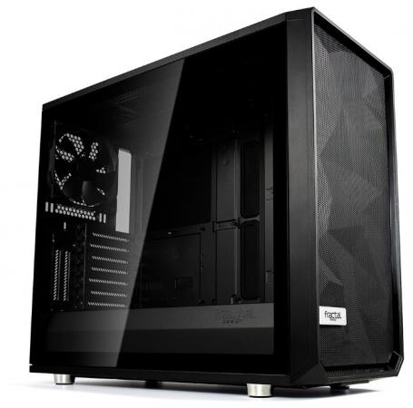 Корпус E-ATX Fractal Meshify S2 Blackout TG Dark Без БП чёрный FD-CA-MESH-S2-BKO-TGD цена и фото