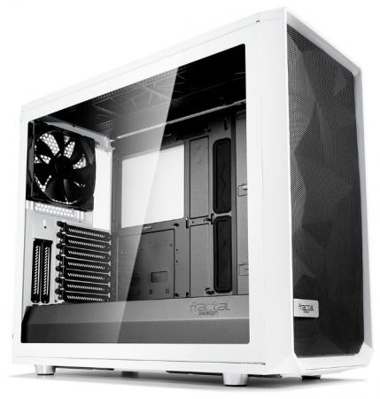 Корпус E-ATX Fractal Meshify S2 White TG Без БП белый FD-CA-MESH-S2-WT-TGC цена и фото