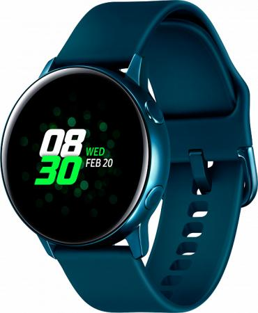 "Смарт-часы Samsung Galaxy Watch Active 39.5мм 1.1"" Super AMOLED зеленый (SM-R500NZGASER)"