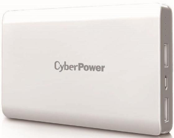 Внешний аккумулятор Power Bank 10000 мАч CyberPower CP10000PEG белый