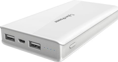 Внешний аккумулятор Power Bank 15000 мАч CyberPower CP15000PEG белый