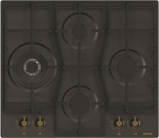 Варочная панель газовая Gorenje GW6D41CLB черный
