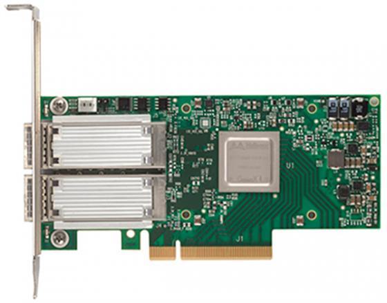 ConnectX®-4 VPI adapter card, FDR IB 40/56GbE,dual-port QSFP28, PCIe3.0 x8, tall