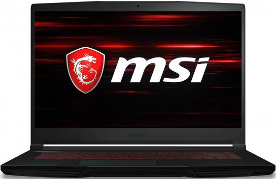 "Ноутбук MSI GF63 8RC-622RU i5-8300H (2.3)/8G/1T+128G SSD/15.6""FHD IPS/NV GTX1050 4G/noODD/Win10 Black ноутбук msi ge62 6qe 462ru core i5 6300hq 16gb 1tb nv gtx965m 2gb 15 6 dvd win10 black"