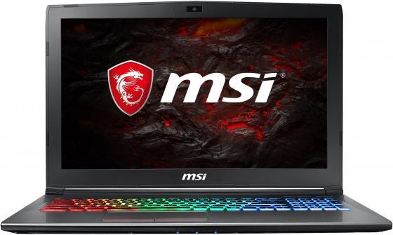 Ноутбук MSI GF62 8RE-069RU i7-8750H (2.2)/8G/1T+128G SSD/15.6FHD AG/NV GTX1060 6G/noODD/Win10 Black ноутбук msi gs65 8rf 069ru core i7 8750h 32gb 512gb ssd nv gtx1070 8gb 15 6 fullhd win10 black