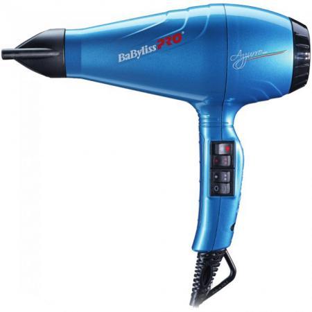 Фен BaByliss PRO BAB6350IBLE 2100Вт синий babyliss pro rotating фен bab2770e